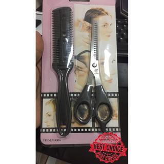 Gunting Rambut Set 2pcs Sisir Sasak gunting sasak No.826- Promo Murah