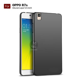 Darknight Oppo R7s   Slim Case Black Matte Softcase Premium (Anti Minyak/Anti Sidik Jari) - Hitam