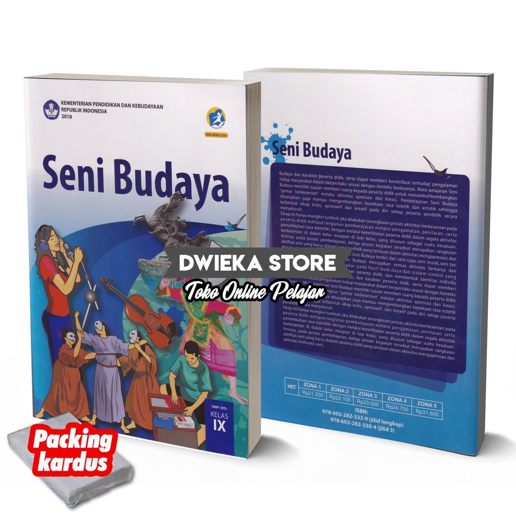 Buku Siswa Seni Budaya Smp Kelas 9 Kurikulum 2013 Edisi Revisi 2018 Shopee Indonesia