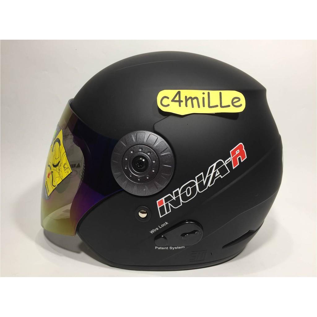 Helm Motor Model Open Face Universal Untuk Keamanan