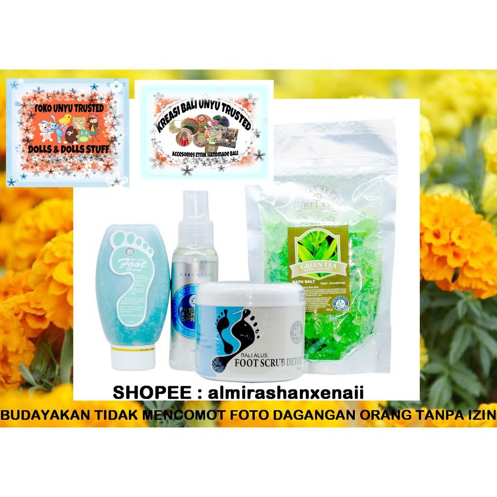 Paket Komplit Bali Alus Perawatan Kaki Original Produk Spa Khas Milk Bath Mandi Susu Shopee Indonesia