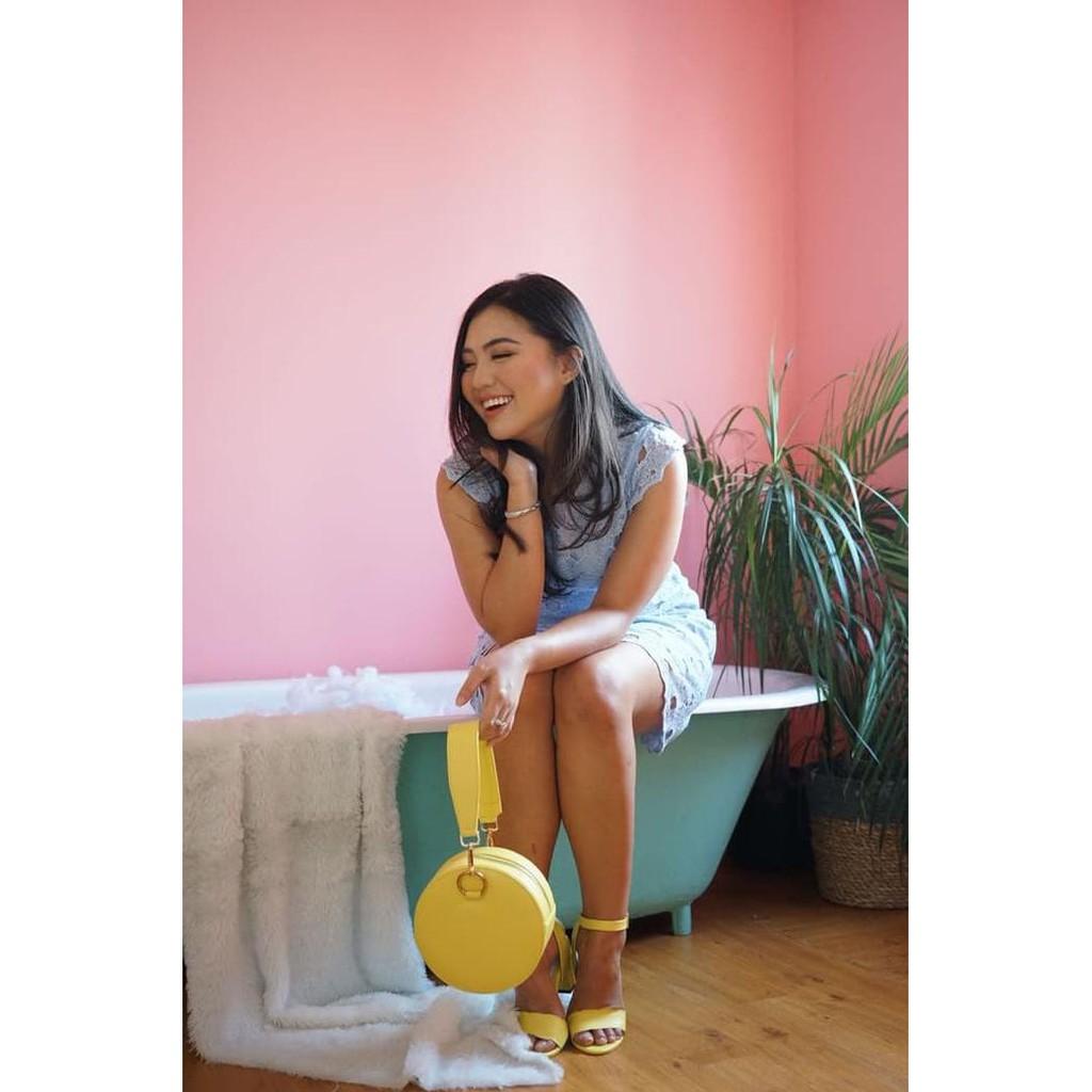 Hello Nuku Mykonos Baby Blue Strappy Heels Shopee Indonesia Havana Red Ballerina Flatshoes Merah 37