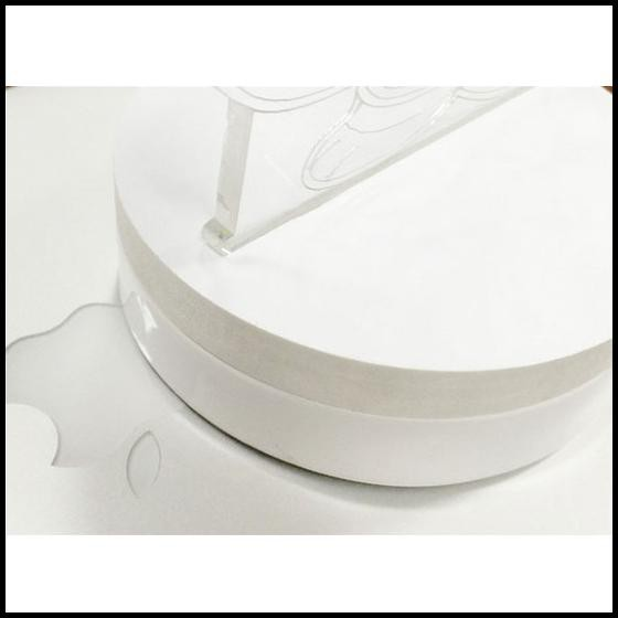 TERMURAH LAMPU 3D LED TRANSPARAN DESIGN TENGKORAK - WHITE !
