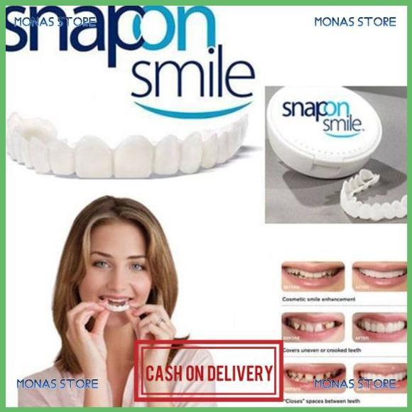 Snap On Smile Veneers 100% ORIGINAL Authentic Gigi Palsu - SEPASANG produk original