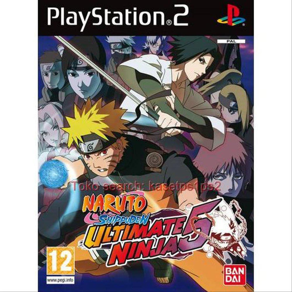 Naruto Shippuden Ultimate Ninja 5 Kaset Ps2 Cd Ps2 Game Ps2 Shopee Indonesia