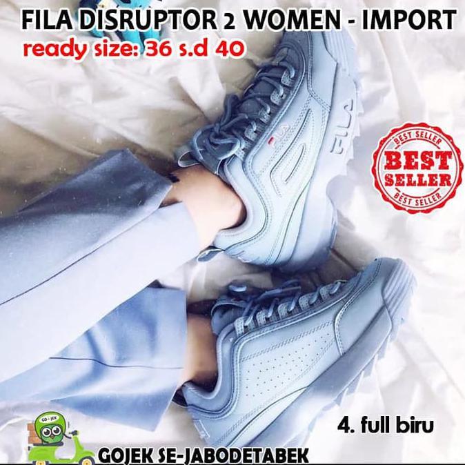 Star Seller Fila Disruptor 2 Women Kw Super. Sepatu Fila Wanita. Sneakers  Women - Full Pink 24ca8c4d75