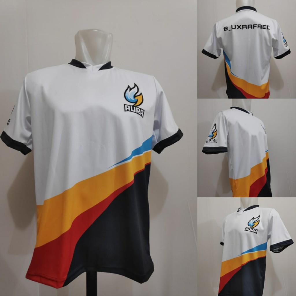 Baju Kaos Jersey AURA Esport ML - PUBGM - FREEFIRE Free ...