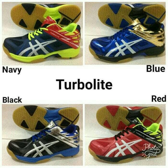 Hot sepatu bola voli profesional original turbolite volly md volli terbaru   9345a6a6d5