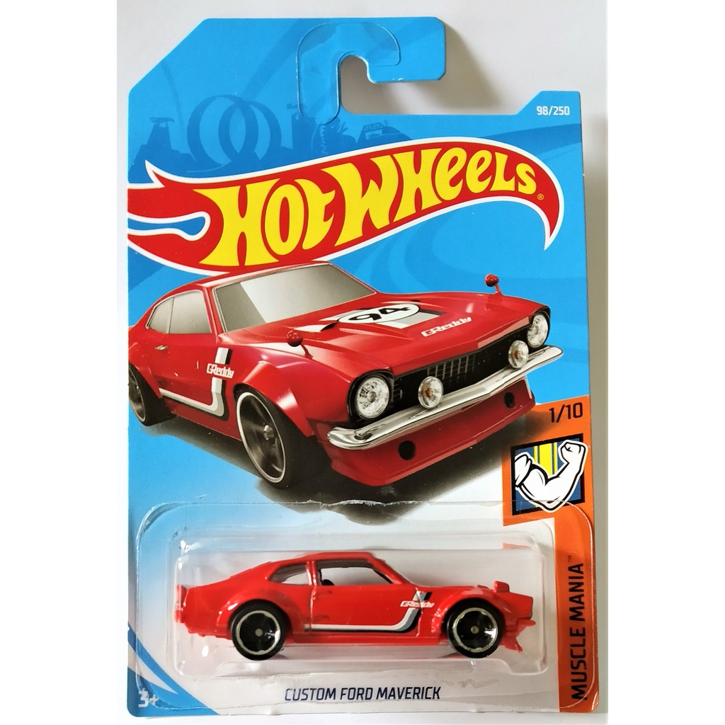 Mobil hot wheels custom 15 ford mustang segel baru shopee indonesia