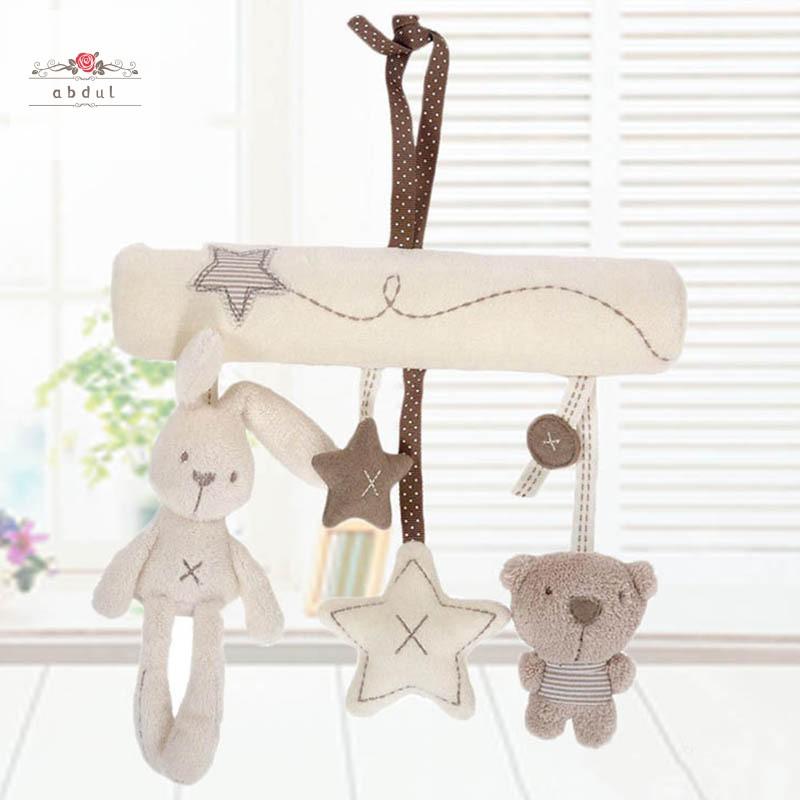 Baby Rattle Handbells Toy Crib Hanging Bell Car Seat// Pram //Stroller Wind Chime
