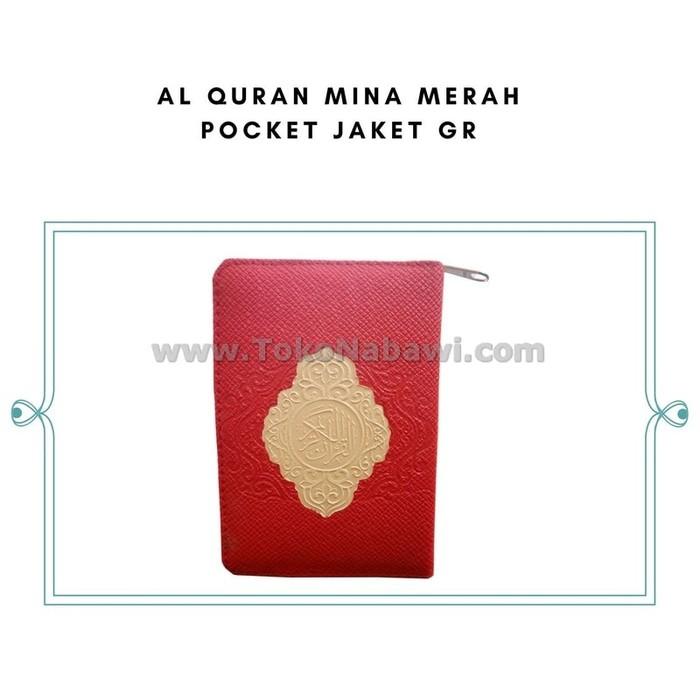 Mushaf Kecil / Al Quran Mubarak kecil genggam saku pocket / Al Quran sleting kecil Mini   Shopee Indonesia