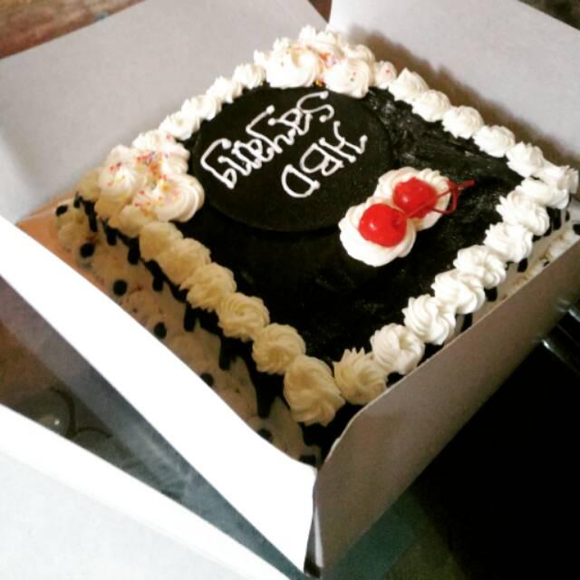 Kue Ultah Simple And Elengan Idr 100 250 Ribu Full Coklat And Browniss Shopee Indonesia