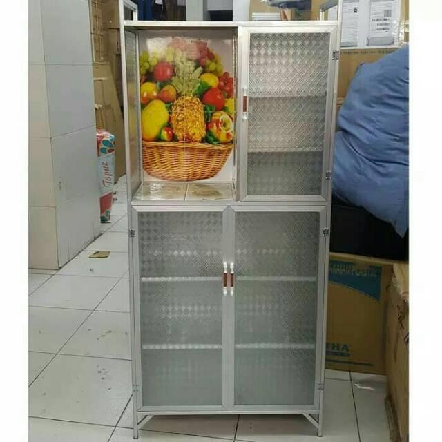 Lemari Kaca Cuci Piring - LEMARILA