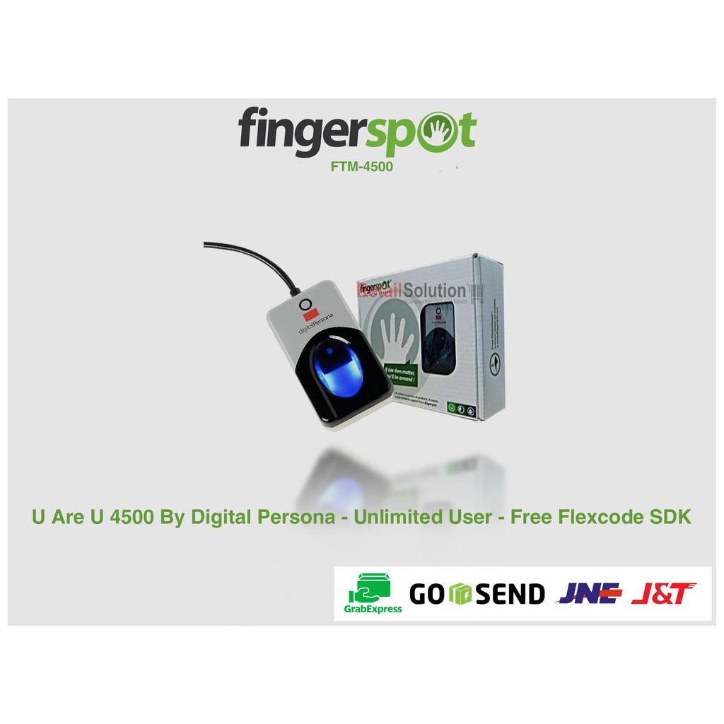 Fingerprint Fingerspot FTM-4500 - U Are U 4500 Sensor