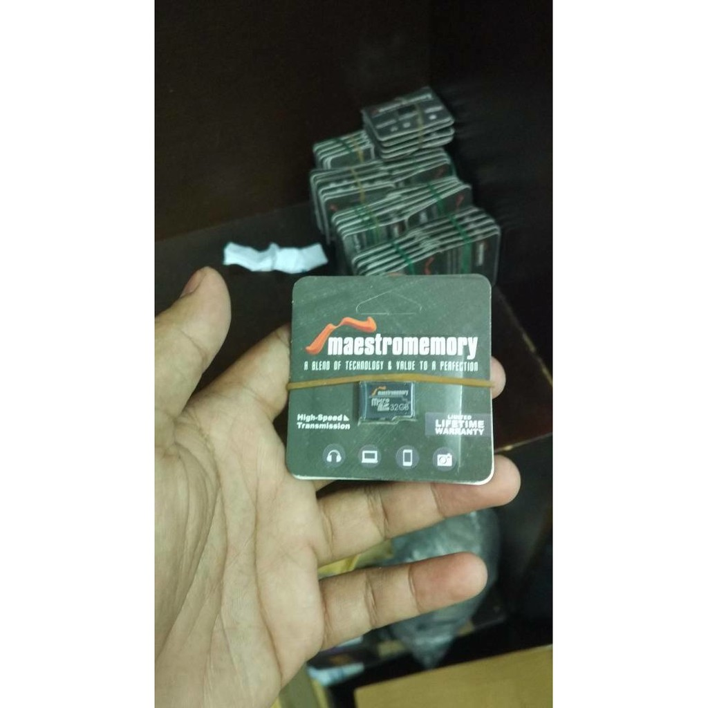 Microsd 16gb Maestro Class 10 Non Adaptor Speed Up To 52mbps 8gb 52mb S Memory Hp Shopee Indonesia