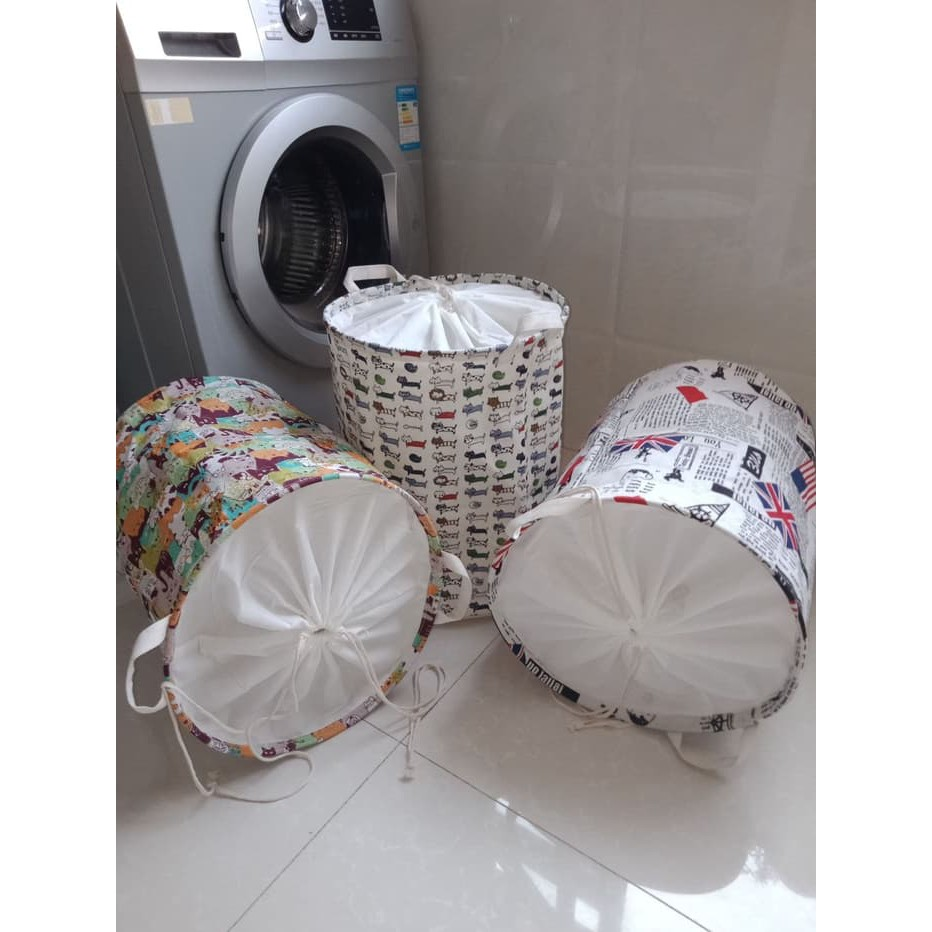Tgb Keranjang Baju Tempat Pakaian Kotor Lipat Murah Shopee Kantong Laundry Bag Bags Bh Hamper Indonesia