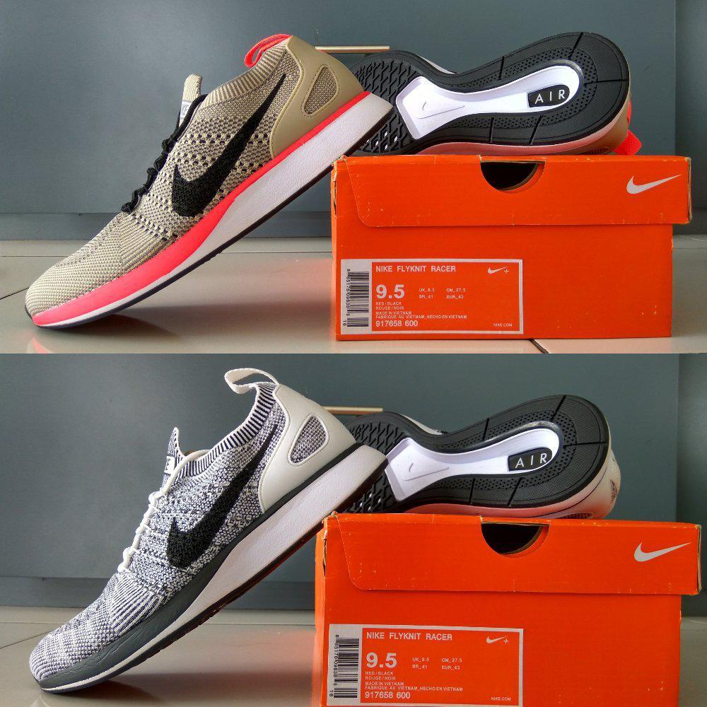 Sepatu Running Nike Air Zoom Mariah Flyknit Racer Full All Black ... f29b0b064d