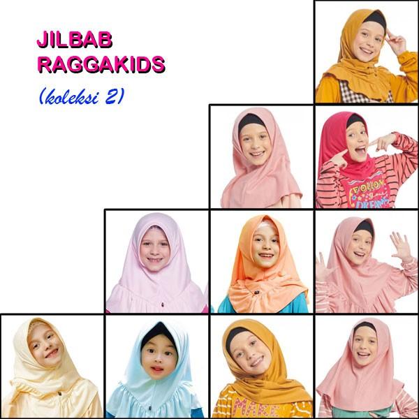 Jilbab Kaos Anak Raggakids (koleksi II)