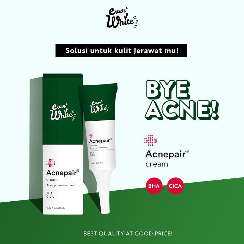 Ever White Everwhite Acne Cream Krim Anti Jerawat