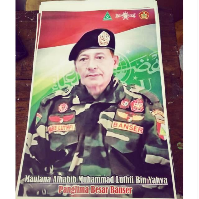 Poster Foto Habib Lutfi Bin Ali Bin Hasyim Bin Yahya Shopee Indonesia