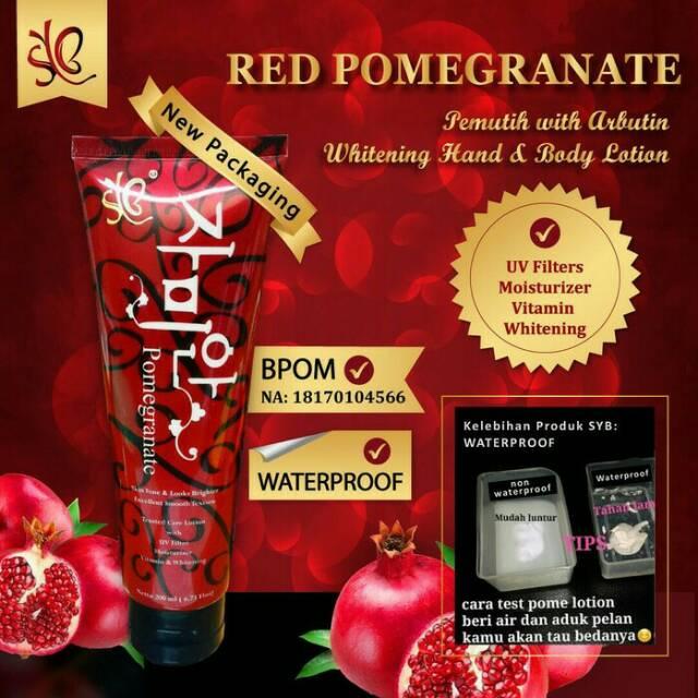 Red Pome MURAH L Glutathione Moist Whitening Lotion SPF 50 300g MURAH | Shopee Indonesia