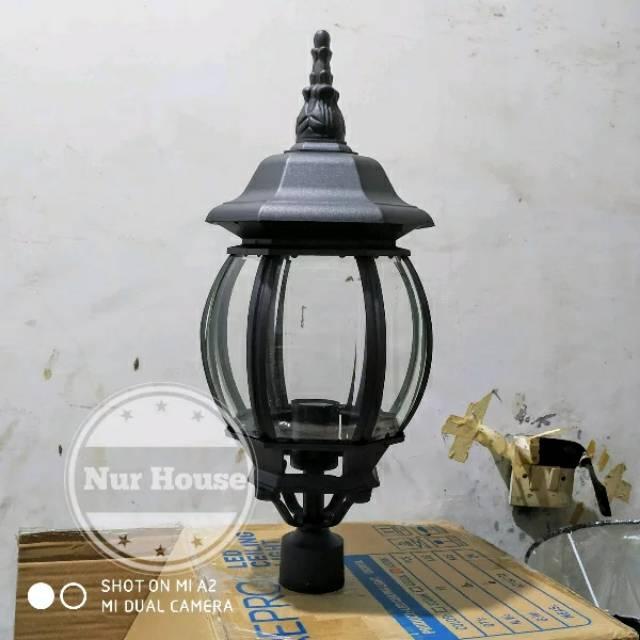 Lampu Taman Pilar Hias Taman Tiang 5003 Ukuran Besar Shopee Indonesia
