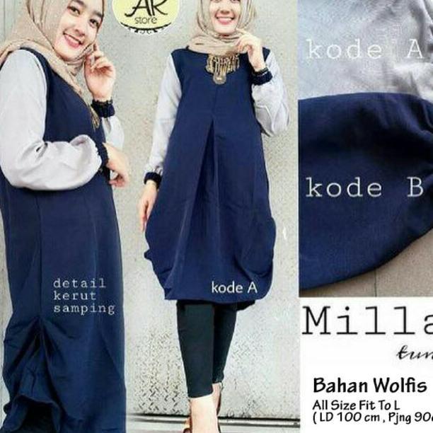 Panjang Wanita Pakaian Modis Casual Modern Baju Kerja. Source · gamis+ hijab  . 22de6dc23b