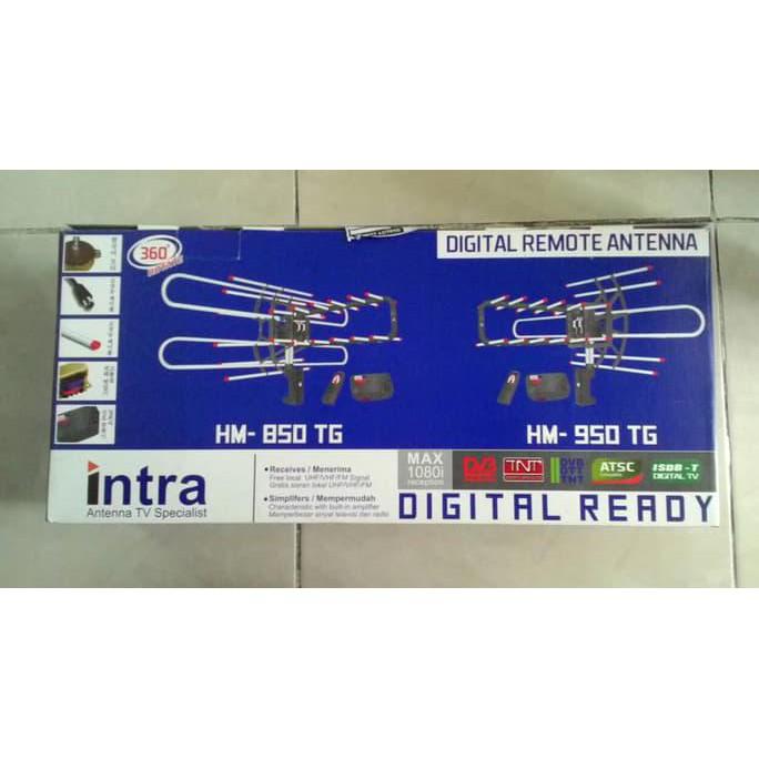Antena Digital TV Rotasi Remote Dengan Booster & Kabel HM-850/95 Antena remote | Shopee Indonesia