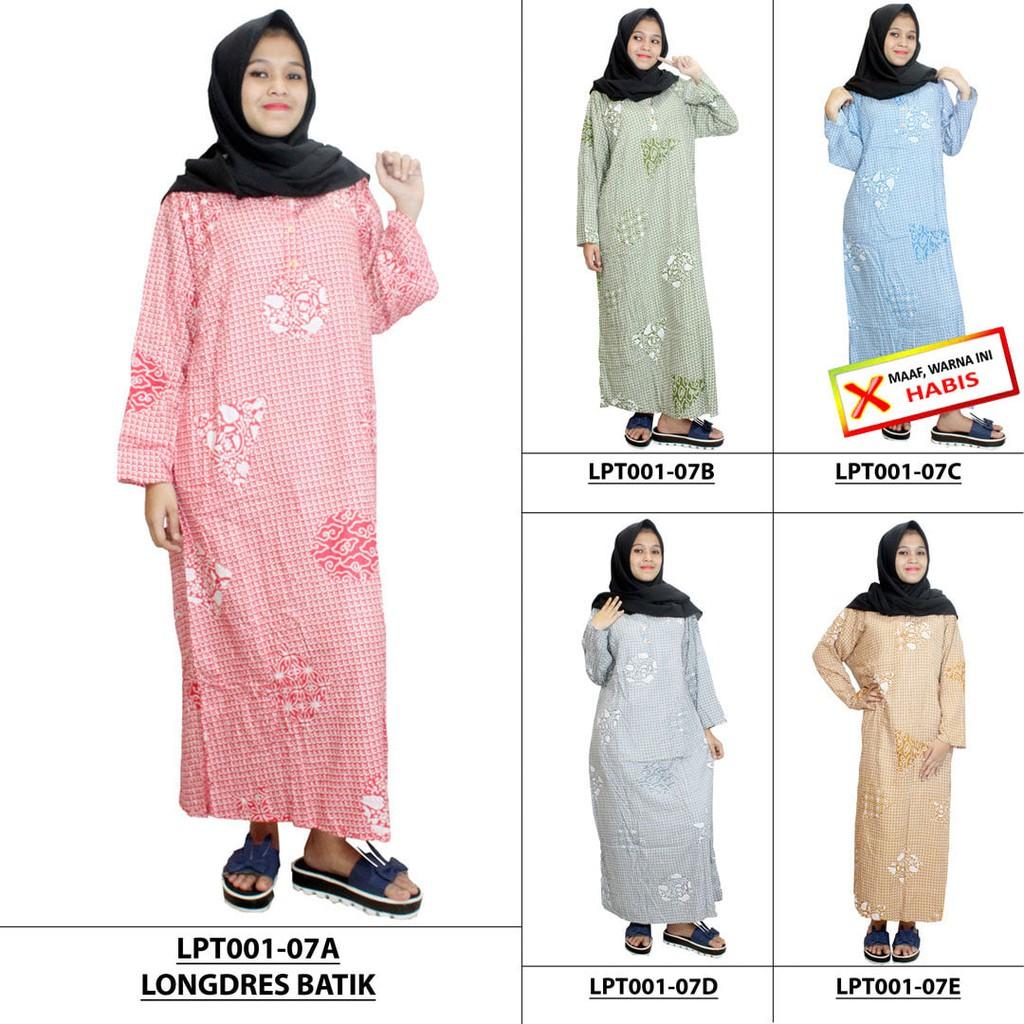Longdress Batik Print LPT001-06. Source · Klloin Seragam Baju Kulot .