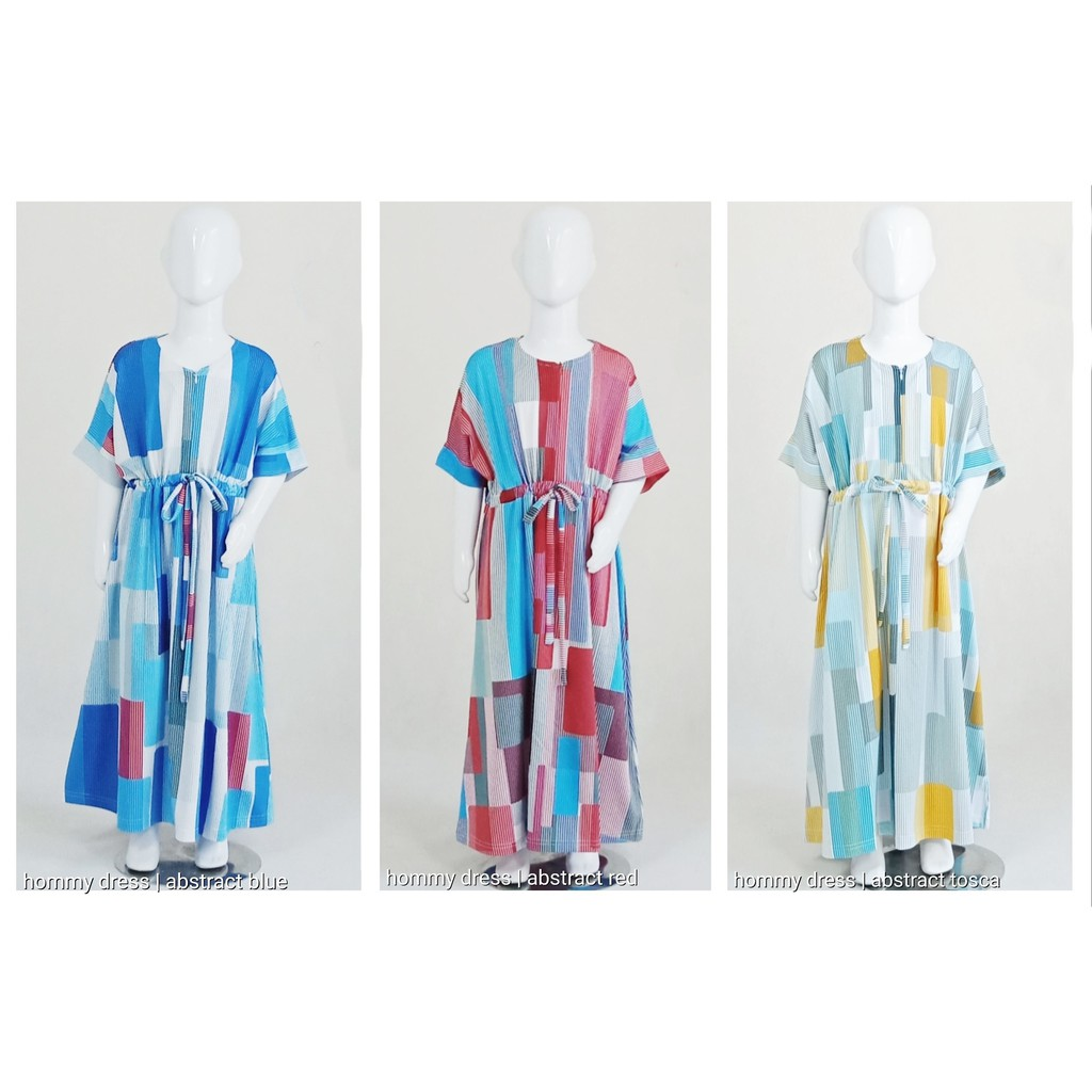 Dress Anak Abstract Hommy Dress Series by Mamanda