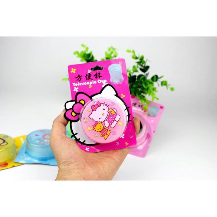 HKN007 - Gelas lipat plastik portable travel telescopic cup plastic   Shopee Indonesia