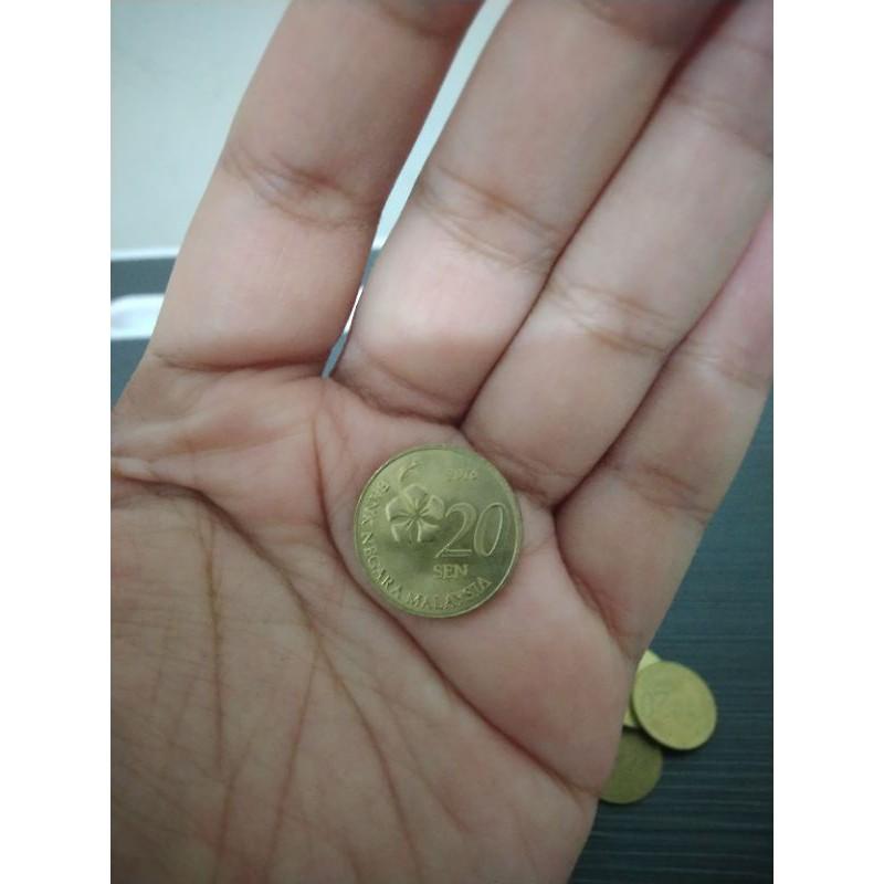 Koin 20 Sen Ringgit Malaysia