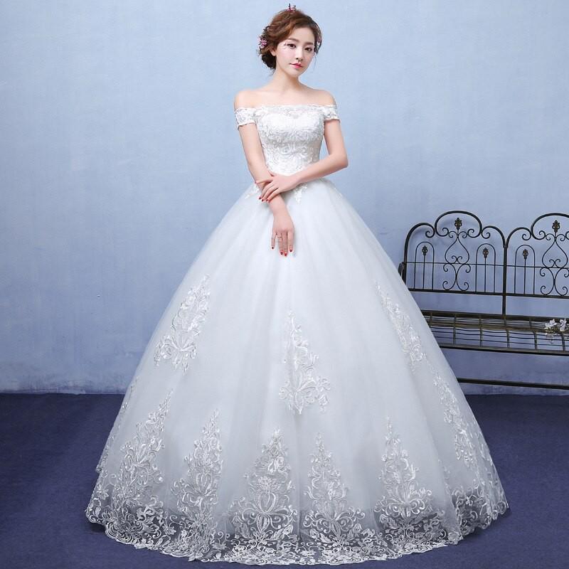 Wedding Dress Ball Gown Bride Dress Princess Wedding Gowns Elegant Shopee Indonesia