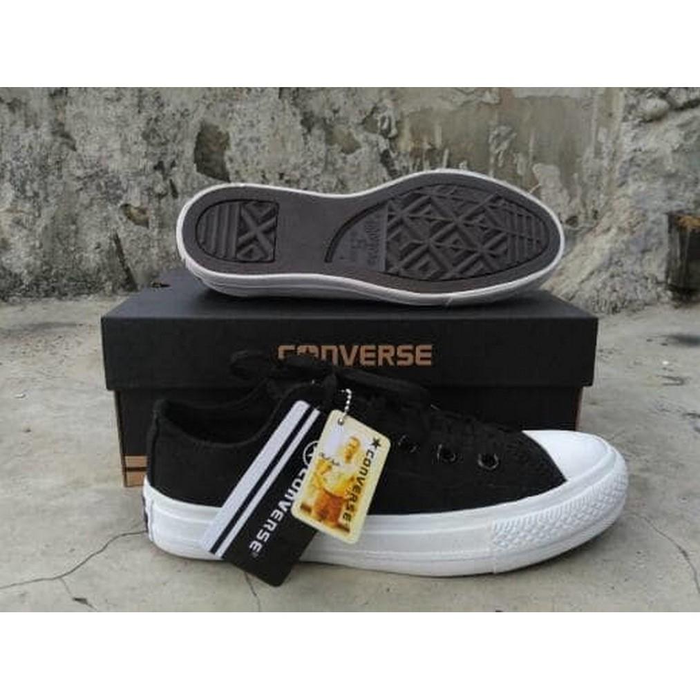Sepatu converse allstar chuck hitam High taylor II grade original ... 99a6ce59cf