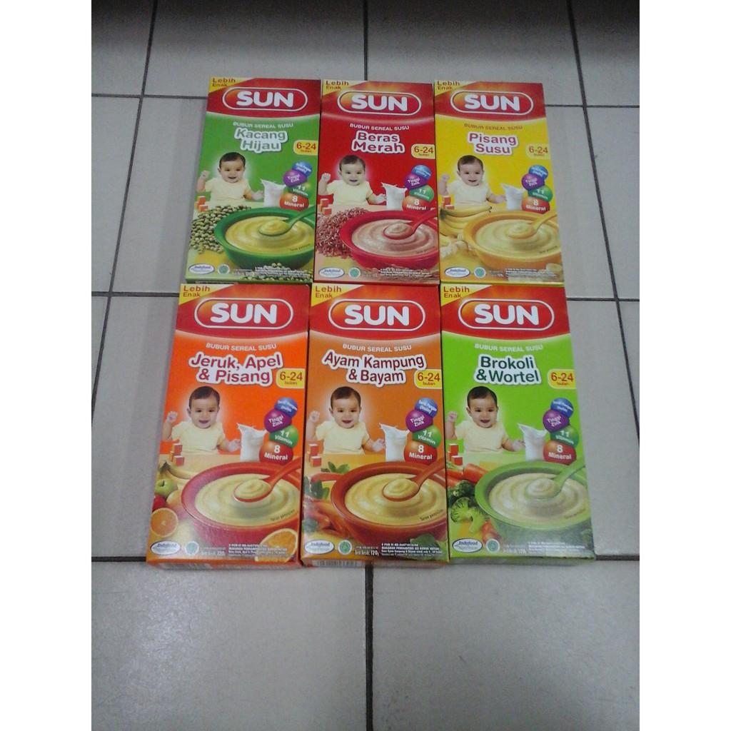 Aneka Bubur Sun Usia 6 24 Bulan Shopee Indonesia