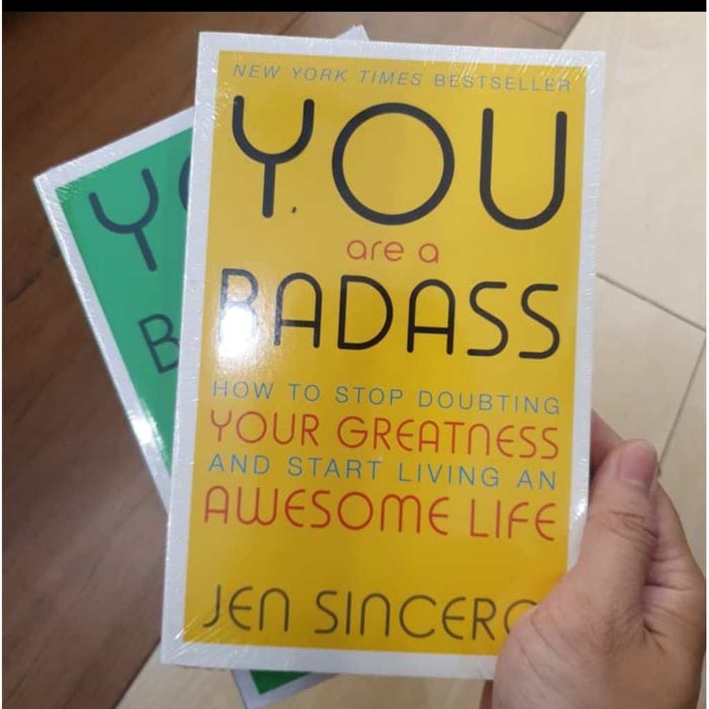 Buy You are a badass how to stop doubting your greatness and start living an awesome life For Free