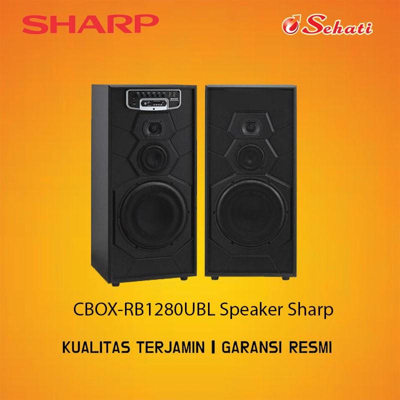 SHARP/SPEAKER/SPEAKER SHARP/CBOX-RB1280UBL