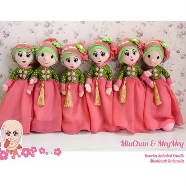 MAINAN ANAK TERLARIS NEW MURAH Boneka barbie muslim muslimah pivotal mata  3d 3 dimensi pivotal  37fe100f53