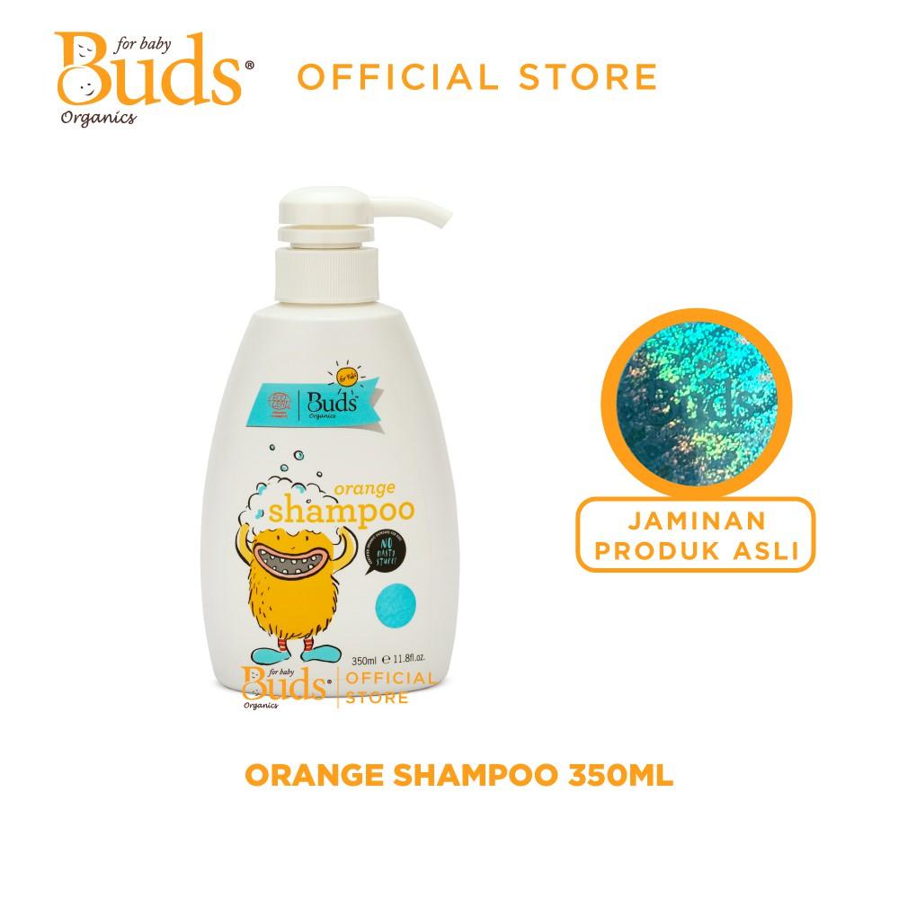 Buds Organics BFK - Orange Shampoo 350ml - Shampoo Anak Organik