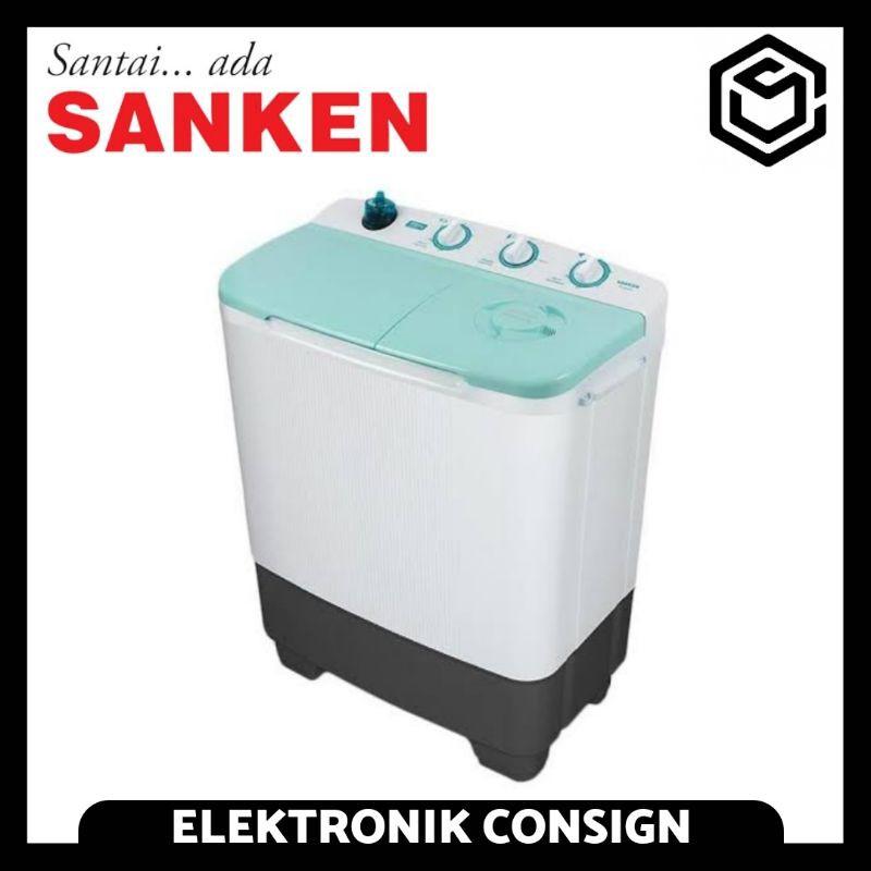 Mesin Cuci Sanken 2 Tabung Kapasitas 8 KG / Mesin Cuci Sanken 8660 Twin Turbo