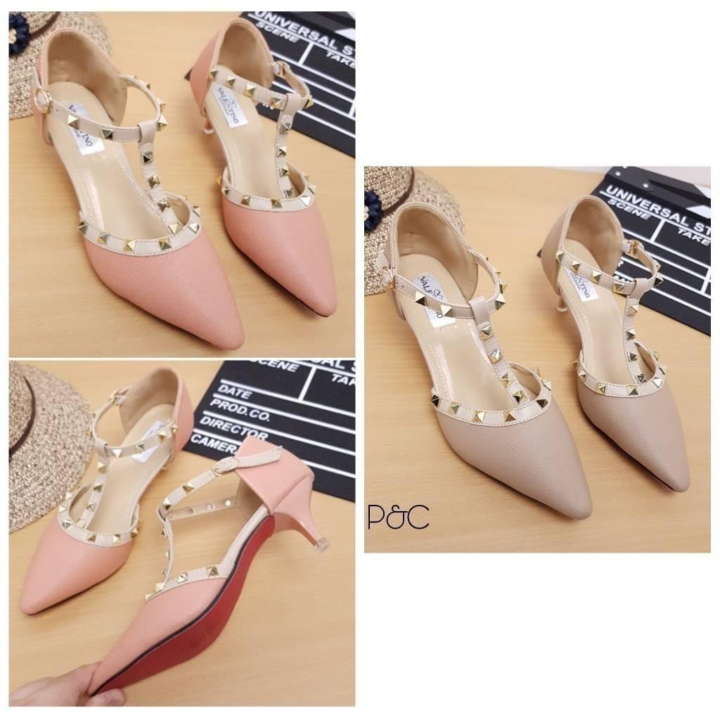 Vincci Heels Shoes Black Red Gray Pink Beludru Suede For Office Amazara Clarissa Hitam 39 Kantor Murah Pesta Shopee Indonesia