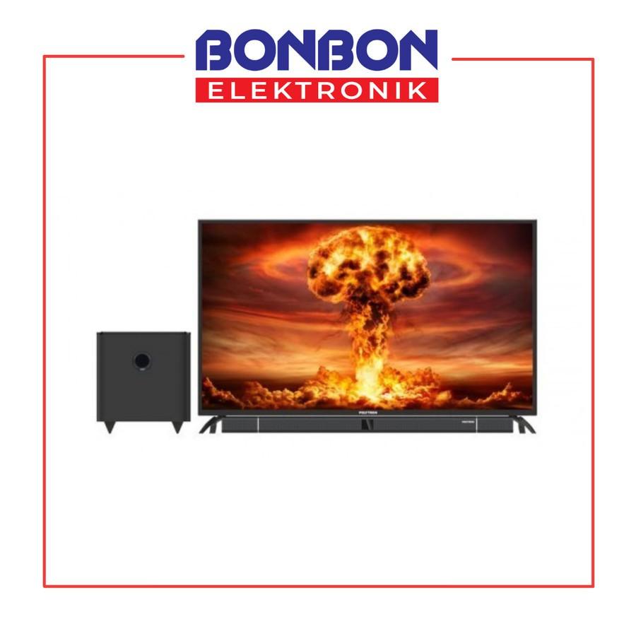 Polytron LED TV 50 Inch 50B8750 Cinemax Soundbar