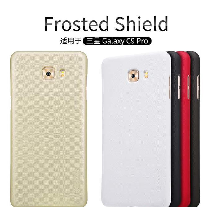 Hard Case Nillkin Original Samsung Galaxy C9 Pro Gratis Anti Gores | Shopee Indonesia
