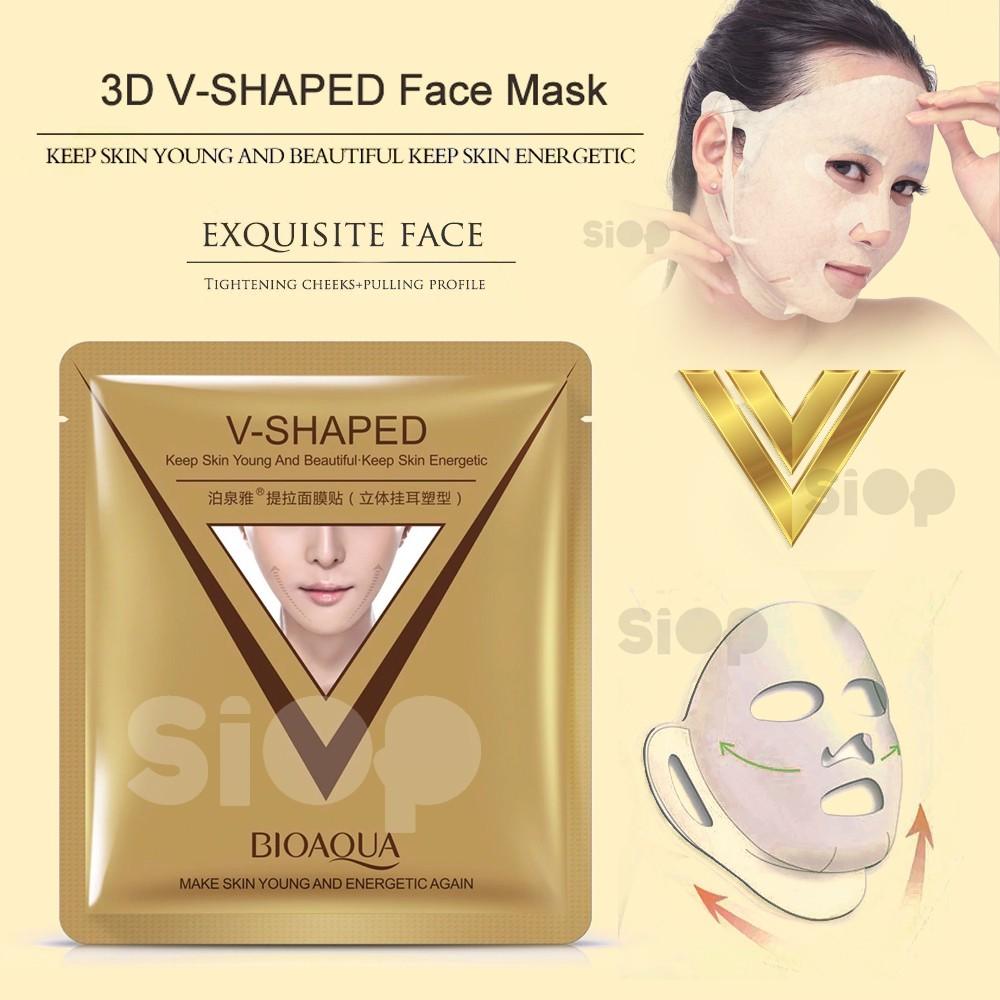 Bioaqua V Shaped Pulling Moisturizing Mask Masker Tirus V | Shopee Indonesia