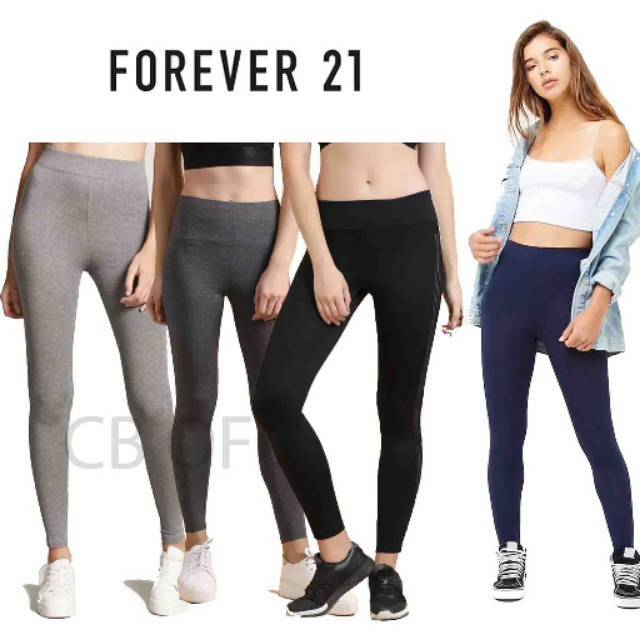 S M L Xl Legging Forever 21 Termurah Shopee Indonesia
