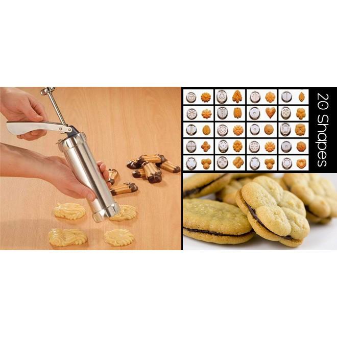 1kg jne muat 3 set - Biscuit maker cetakan kue biskuit marcato | Shopee Indonesia