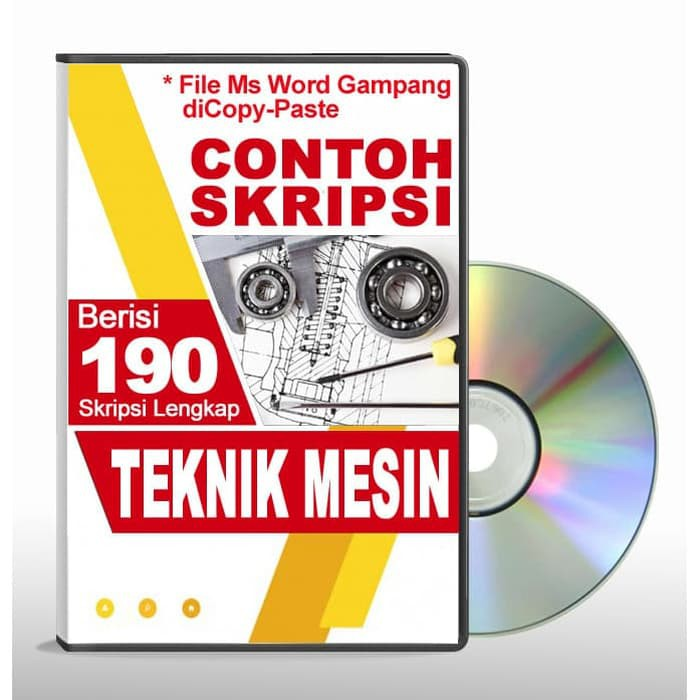 Contoh Skripsi Teknik Mesin File Ms Word Shopee Indonesia