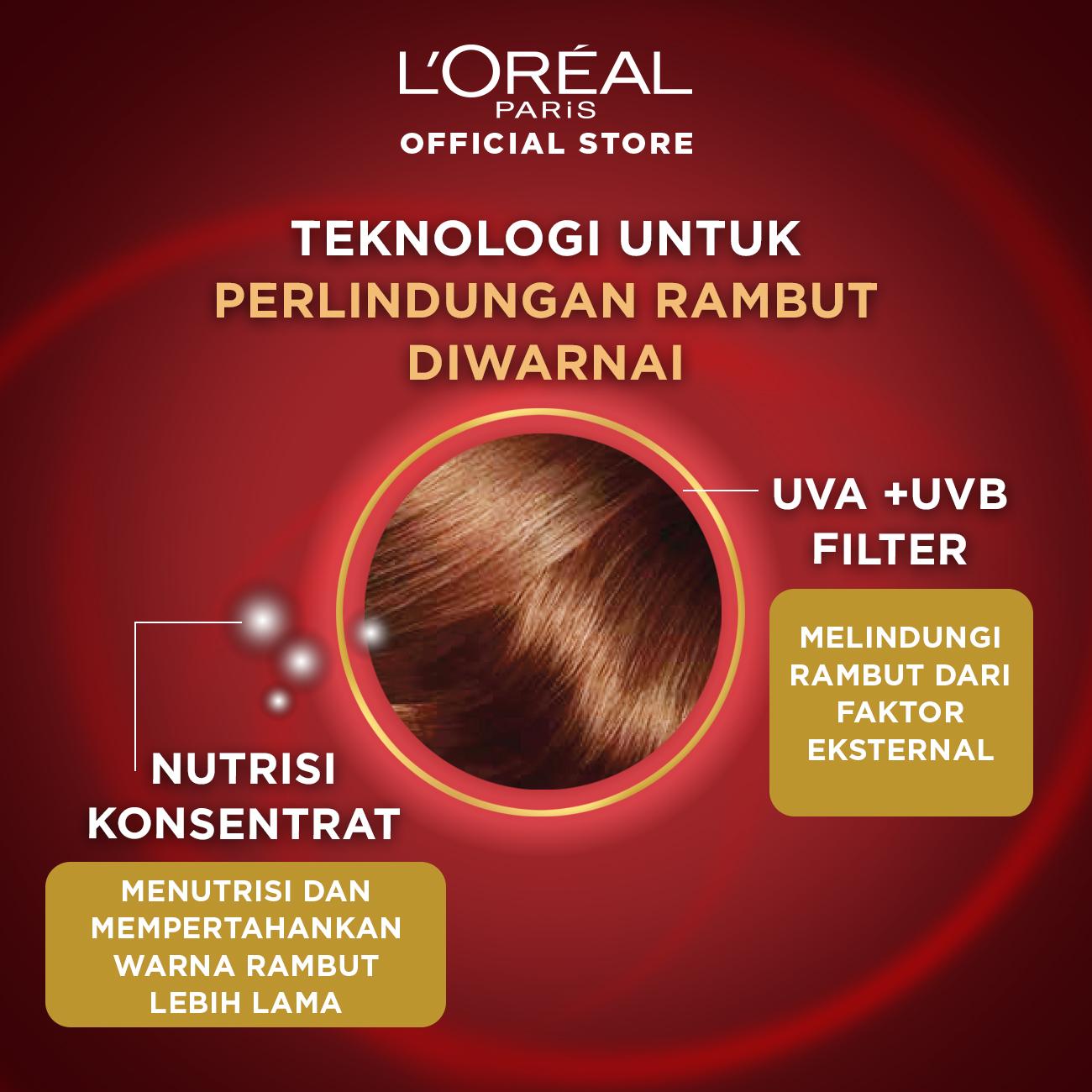L'Oreal Paris Color Vive Protecting Shampoo Hair Care - 280 ml (Perawatan Rambut Setelah Diwarnai)-2