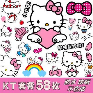 Stiker Koper Desain Kartun Hello Kitty Lucu Anti Air Untuk Traveling Shopee Indonesia