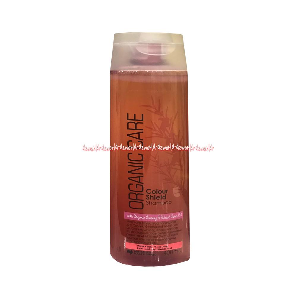 Organic Care Colour Shield Shampoo Gingseng & Wheat Gum Oil 400ml   Shopee Indonesia